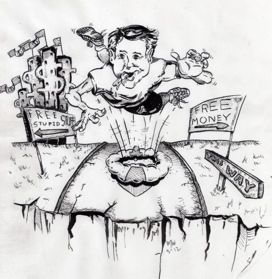 Illustration of Greed