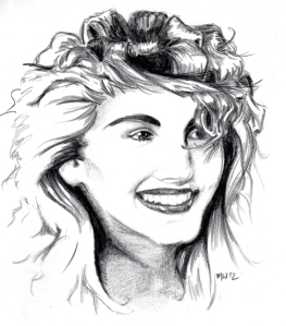 Julia Roberts Portrait Attempt