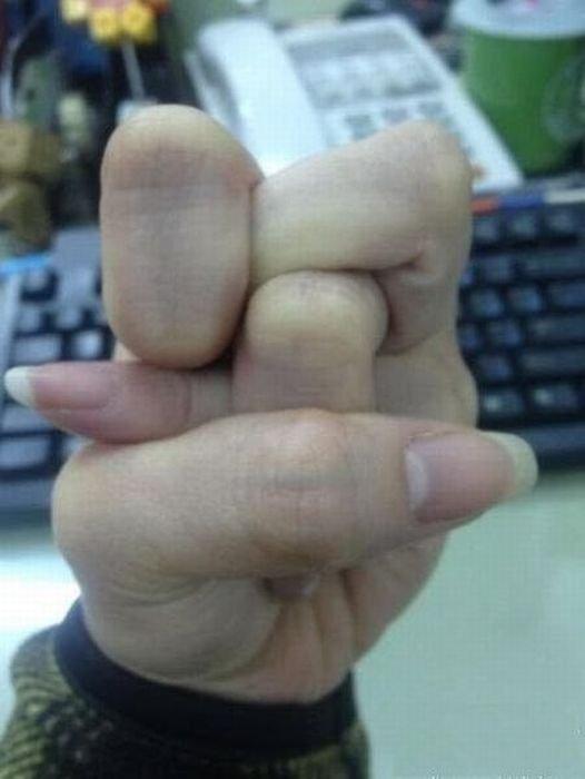 Funny fist