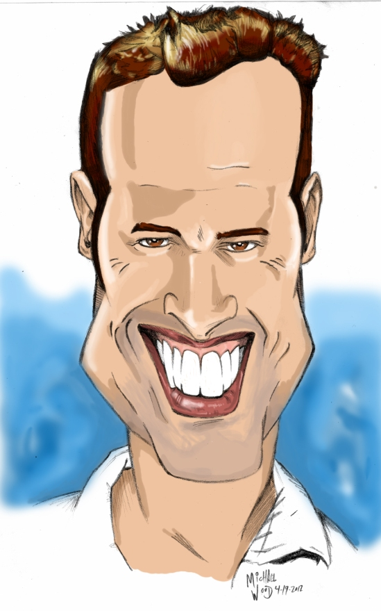 Caricature Portrait of William Levy